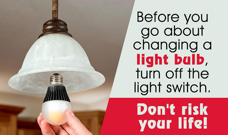 How to Keep Bugs Away: Change Out Your Light Bulbs