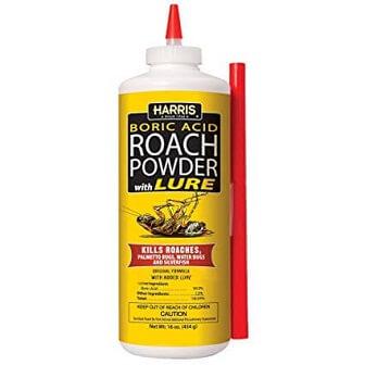 Best Roach Killer: Harris Boric Acid Roach Powder With Lure