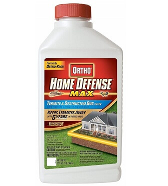 Best Termite Killer: Ortho Home Defense MAX Termite and Destructive Bug Killer Concentrate