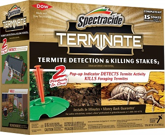 Best Termite Killer: Spectracide Terminate Termite Detection & Killing Stakes