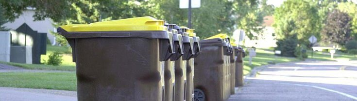 Wash Garbage Containers